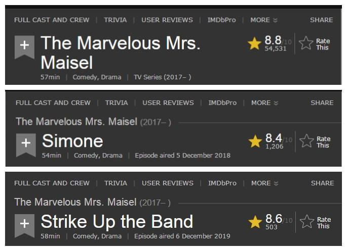美剧版《我的前半生》 豆瓣8.7《了不起的麦瑟尔夫人》周末一口气看完!