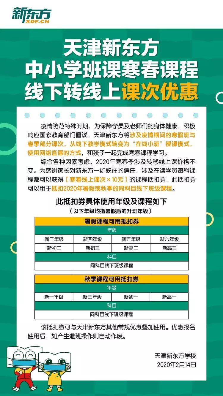 天津新东方网络课程
