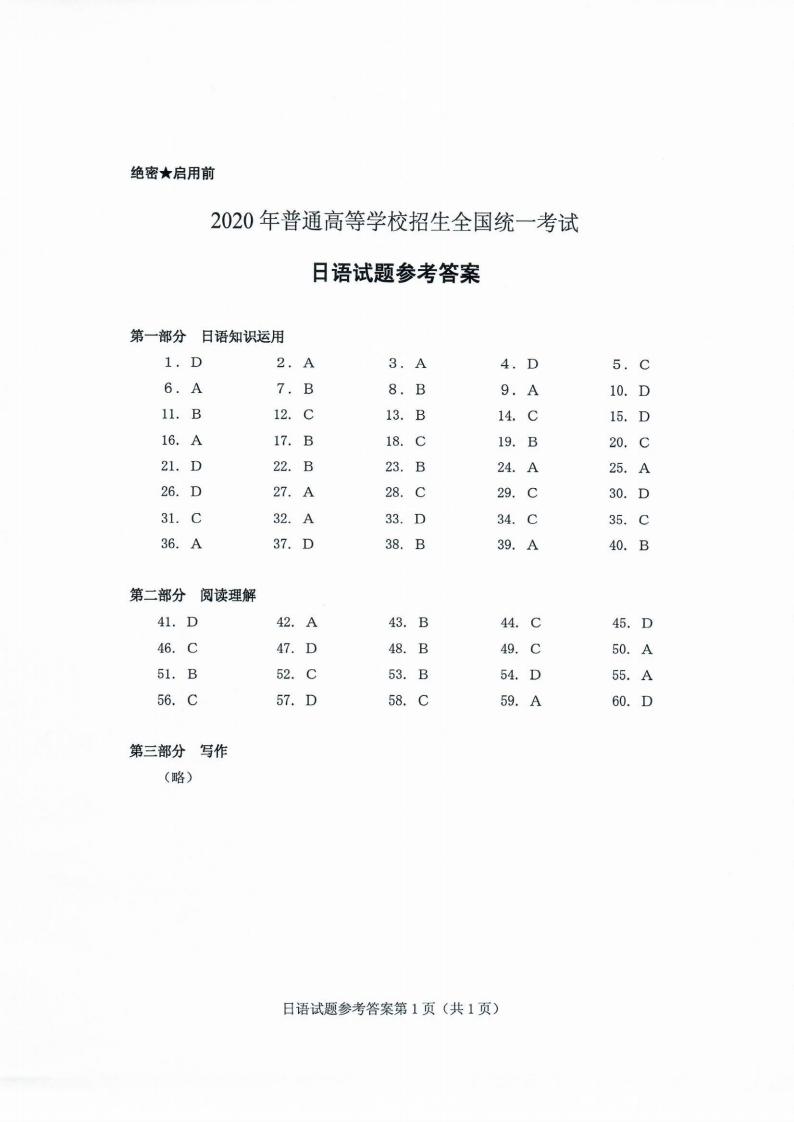 2020高考日语分数排_高考加油站7月26日17:00!山东2020年高考成绩公布时间