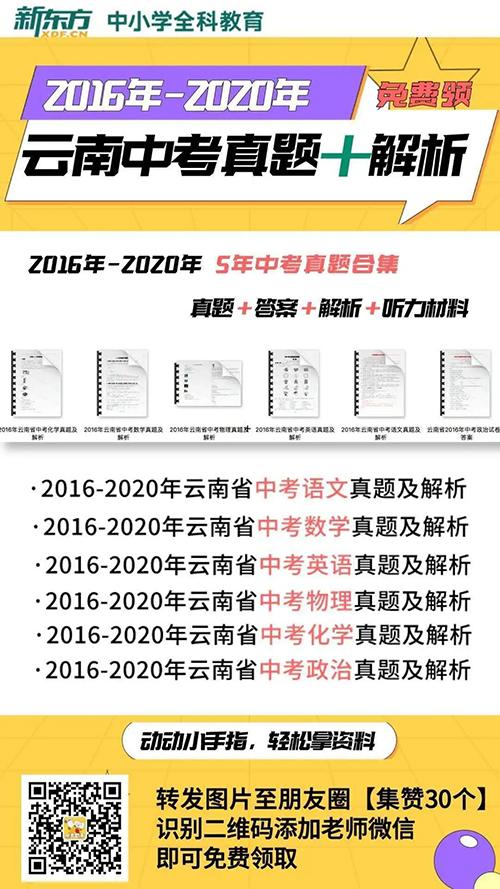 2021中考備考指南