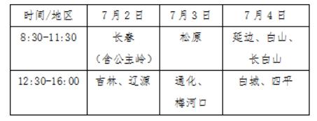 吉林:2021年司法院校招生考生须知