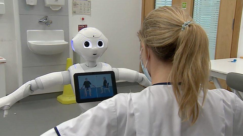 英國科學家研發醫療機器人 Healthcare robots英國科學家研發醫療機器人 Healthcare robots